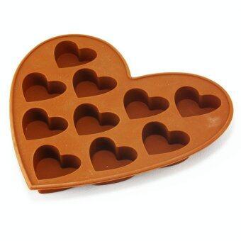 Voice แม่พิมพ์ซิลิโคน รูปหัวใจ 10 ดวง