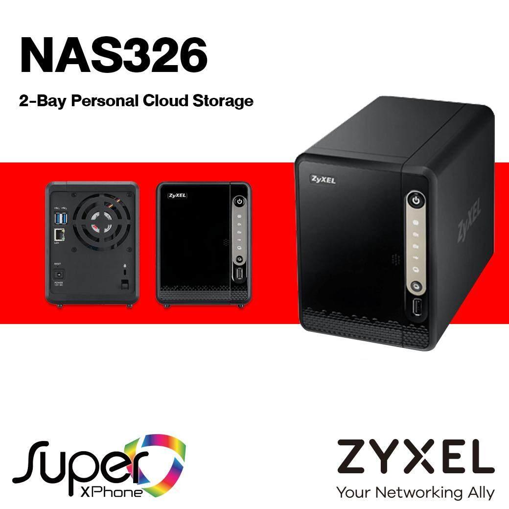 Zyxel 2-Bay Personal Cloud Storage (nas326).