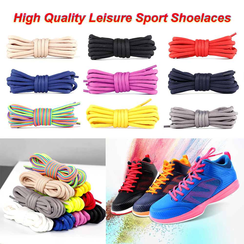 Round Shoelaces leather Shoes Shoe Laces Sport Premium brand new high quality