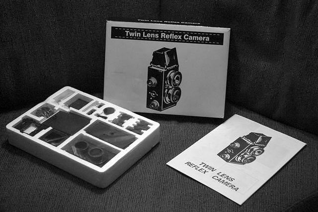 กล้องประกอบเอง Recesky D.i.y Tlr Camera By Kingcobra.