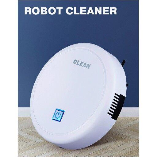 หุ่นยนต์ดูดฝุ่น เครื่องทำความสะอาดอัตโนมัติ Robot Cleaner