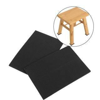 4 cái Màu đen chống trượt Tự dính Bảo vệ sàn Đồ nội thất Sofa Bàn Rubber Feet Pads Ghế Tấm đệm chân cao su thumbnail