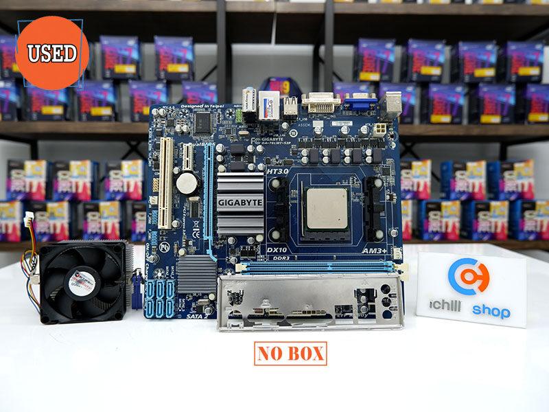 ชุดซีพียูพร้อมเมนบอร์ด Cpu Amd Fx-6300 3.5 Ghz + Am3 + Gigabyte Ga-78lmt-S2 No Box (ประกันร้าน 30 วัน).