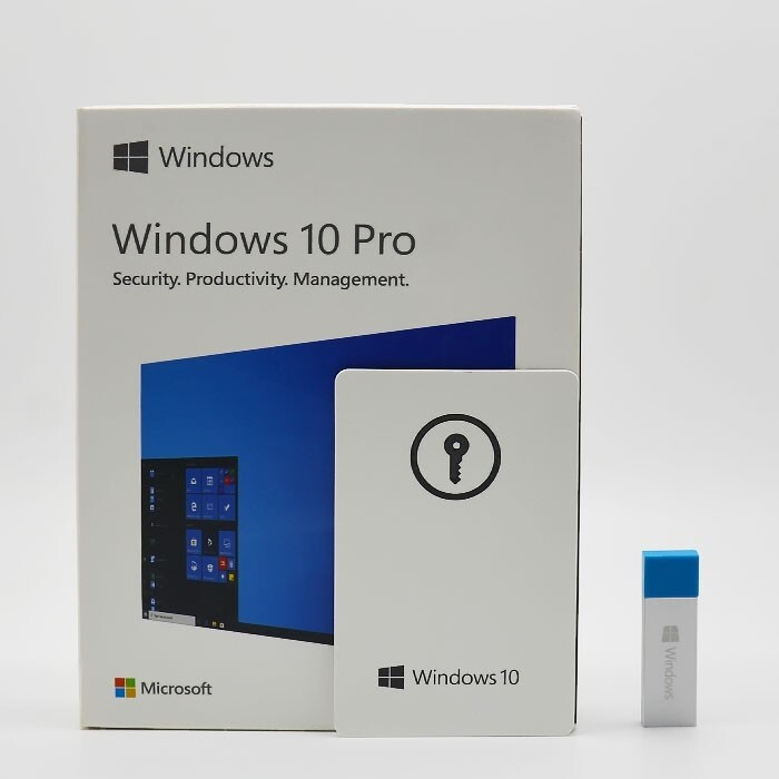 Windows 10 Pro 32/64bit Fpp (full Boxซีนแรกมือหนึ่ง).