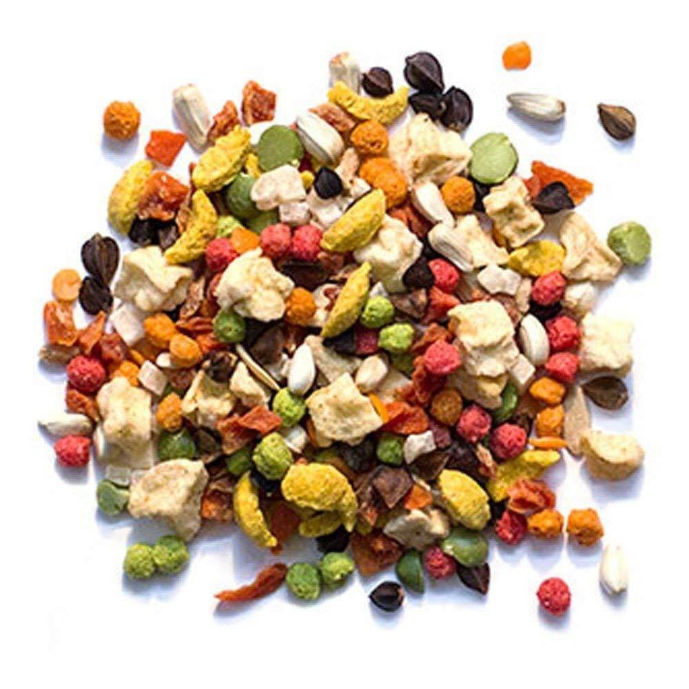 Image 2 for ซูพรีม Pure Fun สูตรผลไม้+ผัก+เมล็ดธัญพืช สำหรับนกกลาง ค๊อกคาเทล เลิฟเบิร์ด คอนนัวร์ (2lb/907g)