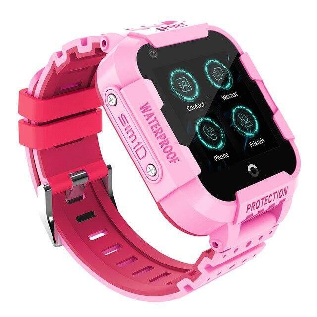 ❤นาฬิกาเด็กรุ่น Df39 Gps Tracker Smart Watch Ip67 กันน้ำ Video Call กล้อง Gps Lbs Wifi ตำแหน่งเด็ก❤.