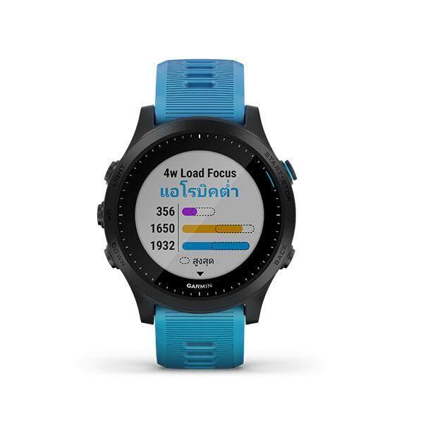 Garmin Forerunner 945 (blue) นาฬิการะดับพรีเมี่ยมสำหรับวิ่งและไตรกีฬาระบบ Gps พร้อมการฟังเพลง (สีฟ้า).