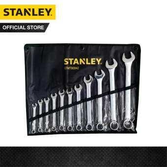 STANLEY ชุดประแจแหวนข้างปากตาย11 ชิ้น STANLEY STMT80942-8 รุ่น CWB ในซองผ้าสีดำ (8,9,10,11,12,13,14,17,19,22,24)