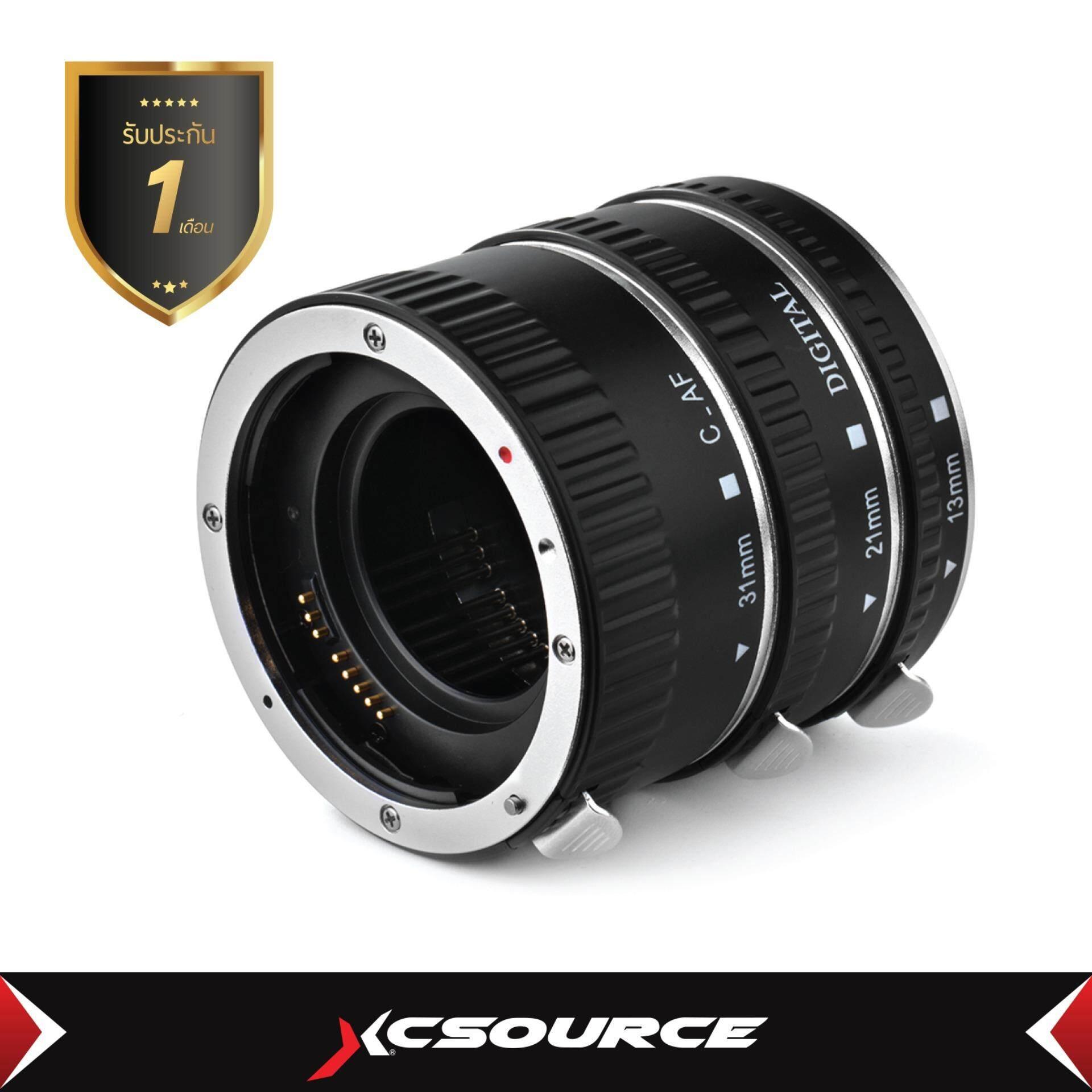 ชุดต่อขยายระบบโฟกัส มาโครชุดเงิน สำหรับกล้อง Canon Eos Extreme Close-Up.