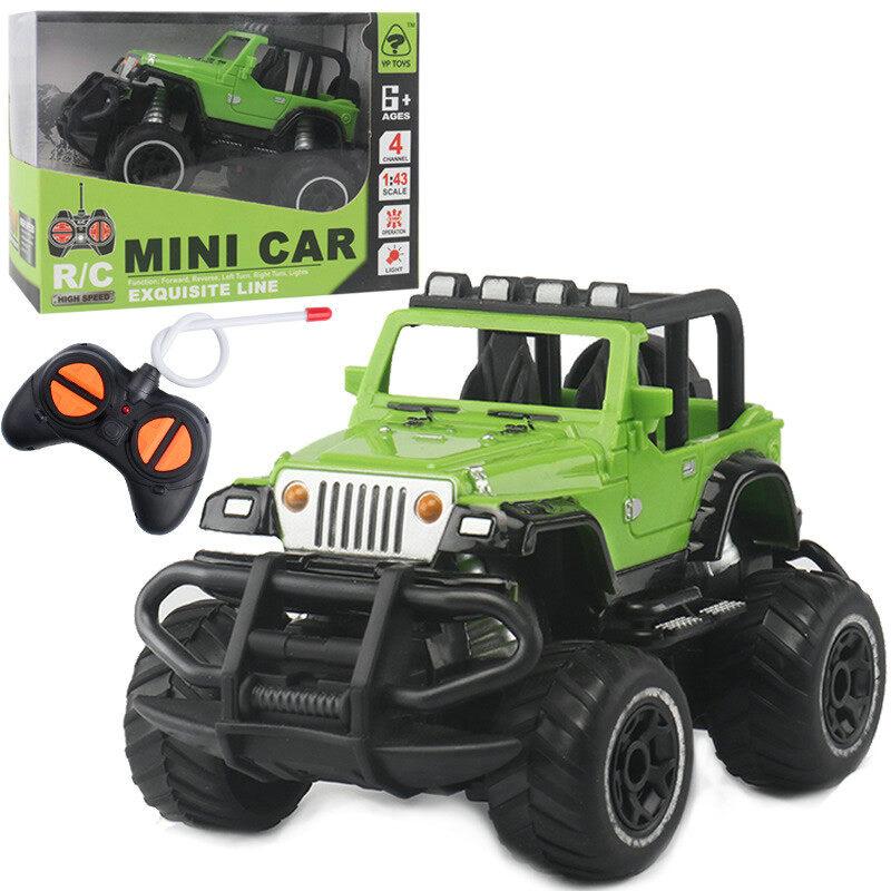 รถบังคับ รถแบตไฟฟ้าเด็ก Remote Control Car For Kids Off-Road Vehicle Gift For Boys Monster Truck Electric Toy Car รถจิ๊บ รถของเล่นเด็ก รถบังคับไฟฟ้า.