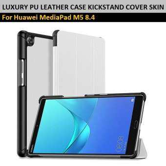 Qcase - เคสสำหรับ หัวเหว่ย MediaPad M5 8.4 -Smart Cover with Auto Wake & Sleep Function for Huawei MediaPad M5 8.4-