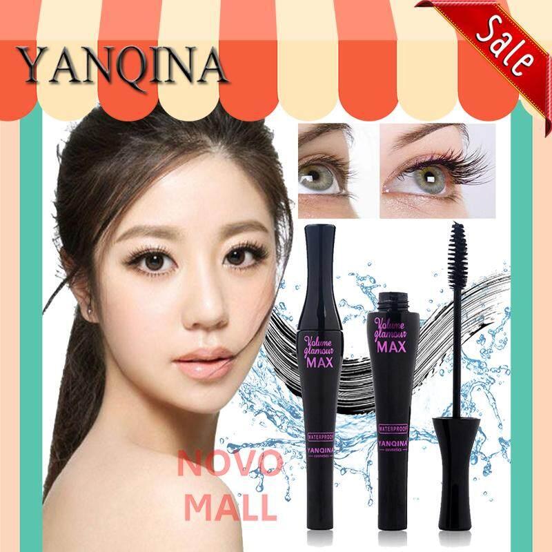( ของแท้ / พร้อมส่ง ) มาสคาร่าสูตรเพิ่มความหนา (แท่งสีดำ) Yanqina Volome Glamour Max Masacara Waterproof 10 ml. ( รหัสสินค้า 26015 )