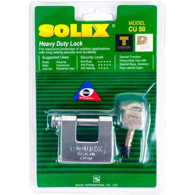 กุญแจลูกปืน SOLEX CU -50 50 MM CR