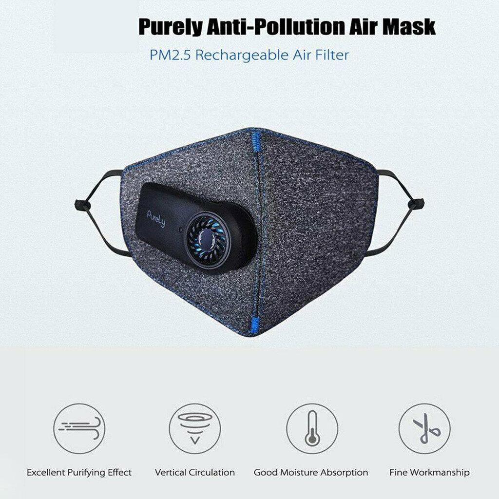 Mặt Nạ Thông Minh, SmartMask Lê Mặt Nạ LED Hoàn Toàn Chạy Điện Chống Ô Nhiễm Không Khí Trong Lành Phong Cách Cổ Điển, Dành Cho Xiaomi MIJIA