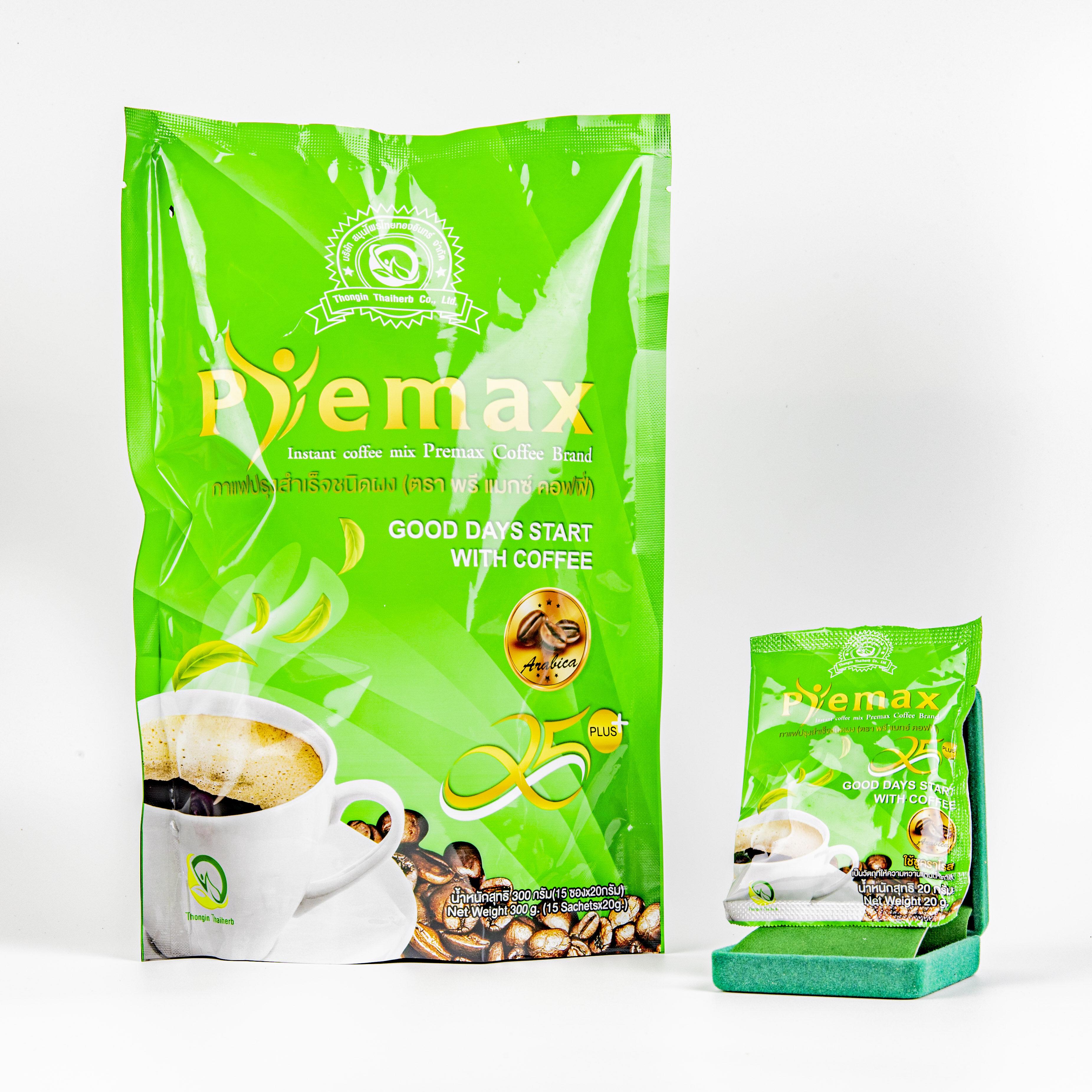 Coffee กาแฟเพื่อสุขภาพ ลดน้ำหนัก Premax.