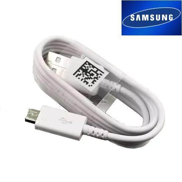 สายชาร์จ แท้ๆๆ Samsung S6 J2 J2prime J7 J710 J7prime J1 J7pro J4 J6 J4plus J6plus ของเเท้แกะเครื่อง สามาถใช้ได้กับมือถือทุกรุ่น ที่รองรับหัว Usb Micro ระยะเวลาการรับประกัน 1 ปี.