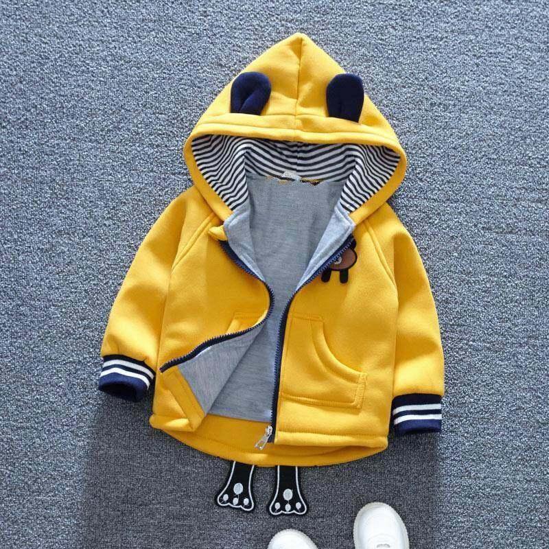 [พร้อมส่ง] เสื้อกันหนาวแจ็คเก็ตหมี.