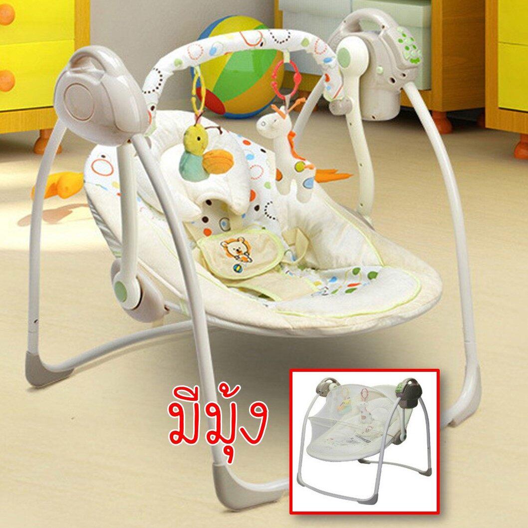 รีวิว Babydede เปลไกวไฟฟ้า เปลไกวเด็ก เปลนอนเด็ก เปลไกวอัตโนมัติ 2 in 1 ใช้ได้ทั้งไฟบ้านและถ่าน มีมุ้ง