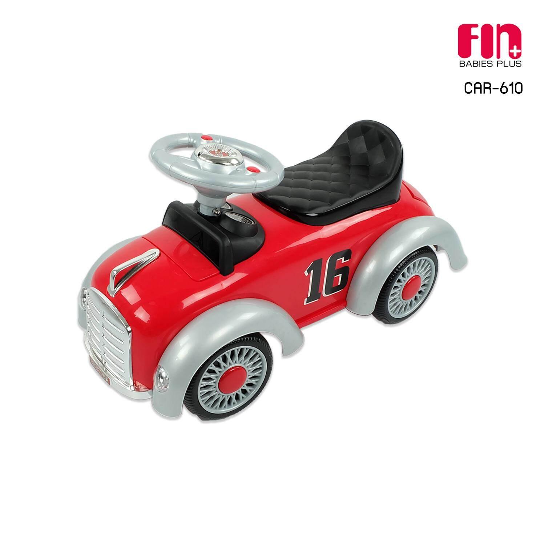 Fin Babiesplus รถขาไถวินเทจ รุ่น Car-610.