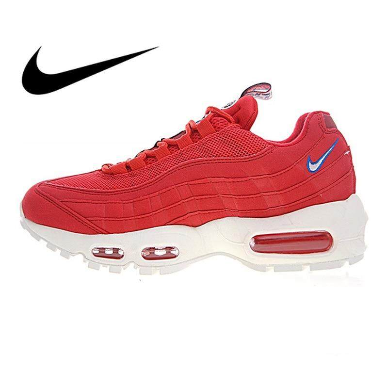 purchase cheap 7cc9a e4e59 Original Authentic Nike Air Max 95 TT Mens Running Shoes Sport Outdoor Sneakers  Athletic Designer Footwear