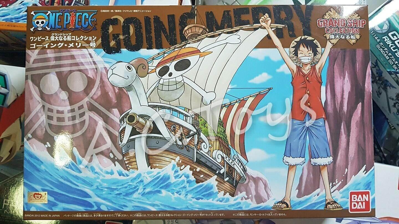 เรือแมรี่ กลุ่มโจรสลัดหมวกฟาง One Piece By Ac.toy.