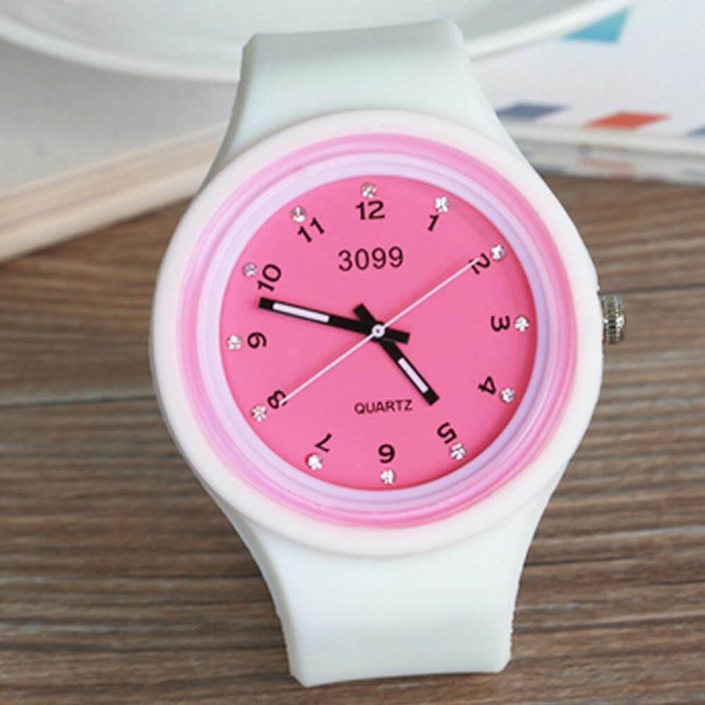 Kpshop นาฬิกาข้อมือแฟชั่น นาฬิกาผู้หญิงนิยม นาฬิกาสวยๆของผู้หญิง รุ่น Lc-070 (สีขาว).