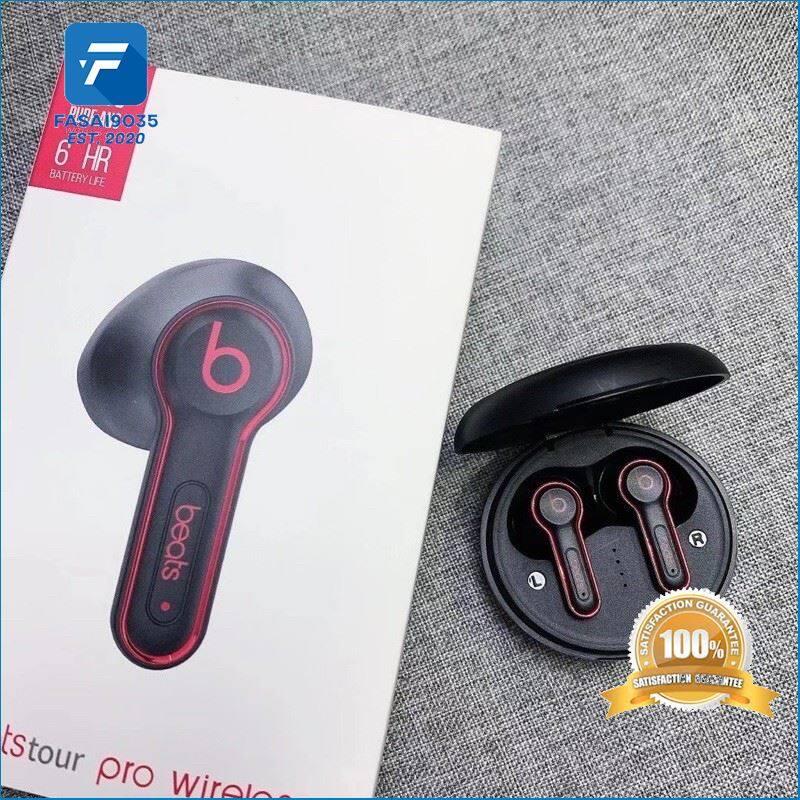ของกำลังฮิต หูฟังบลูทูธBeats H3 Tws Ready Stock บลูทูธ5.0 ไร้สาย earphone wireless sports binaural TWS in-ear dual-call headset คุณภาพดี