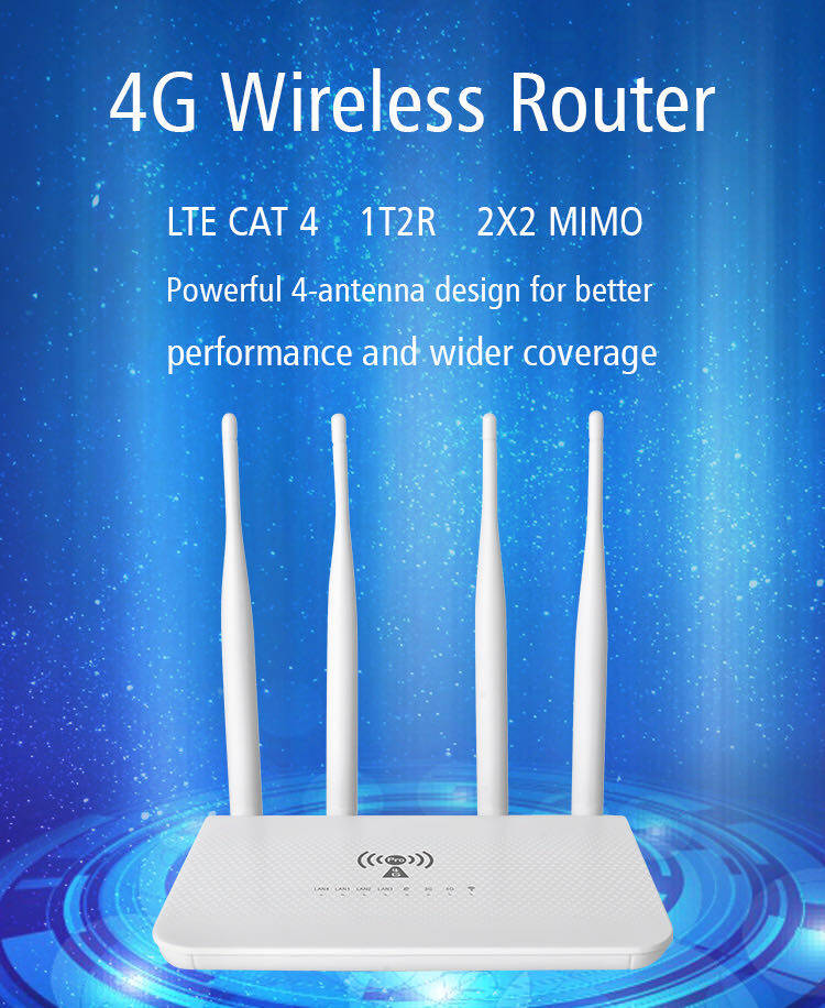 4g Router เราเตอร์ใส่ซิม 150mbps รองรับ 3g,4g รองการใช้งานสูงสุด 32 อุปกรณ.