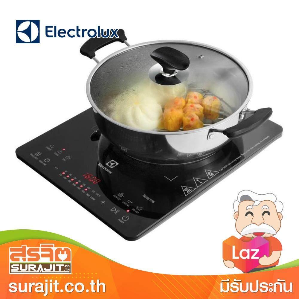 ELECTROLUX เตาแม่เหล็กไฟฟ้าตั้งโต๊ะ Slide control หน้าจอ LED รุ่น ETD42SKR