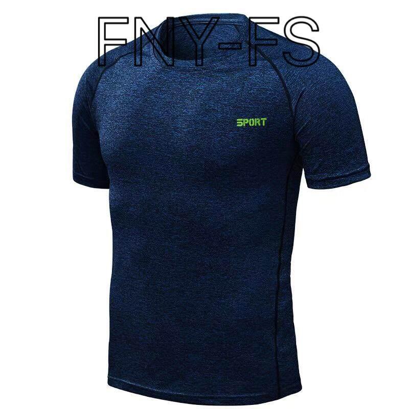 เสื้อยืดสปอร์ต Fny-Fs เสื้อกีฬาไหล่สโลป.