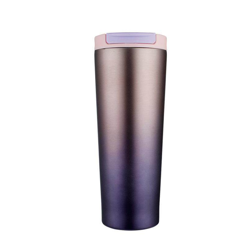 500ML Stainless Steel Leakproof Insulated Thermal Travel Coffee Mug Cup Flasks