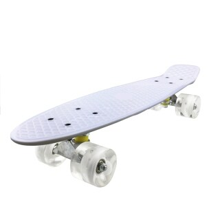 Mini Cruiser, Skateboard for Beginners Kids, 22inch PP Panel Child Skateboard,for Outdoor Sport Fish Board Non-Slip Deck thumbnail