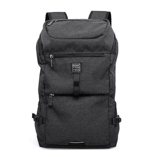 Kaka Simple Oxford Computer Backpack Student Bag Light MenS Bag Casual Backpack Usb Interface Backpack