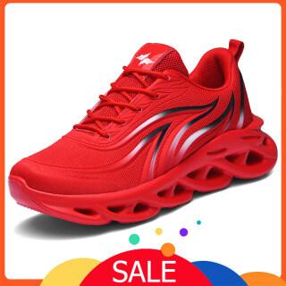 Shoe King Giày thể thao thiết kế đế xoắn rỗng giúp thoáng khí mềm mại dành cho nam cỡ từ 39 đến 46 - INTL thumbnail