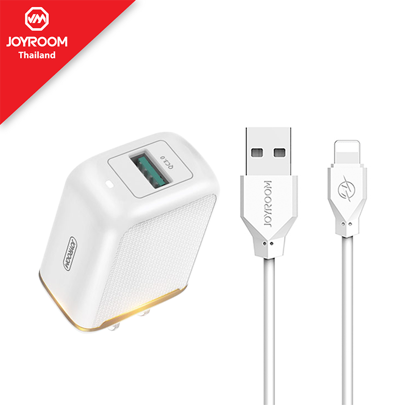 Joyroom L-Q18Z (UK) Fast Charging Adapter With Type-C Cable