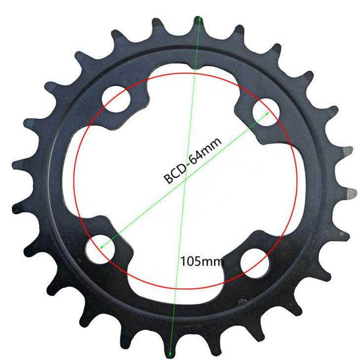 Mua MTB Mountain Bike Wheel 24T Bicycle Repair Disc Sprocket for Shimano Double Piece Crankset 10/11 Speed