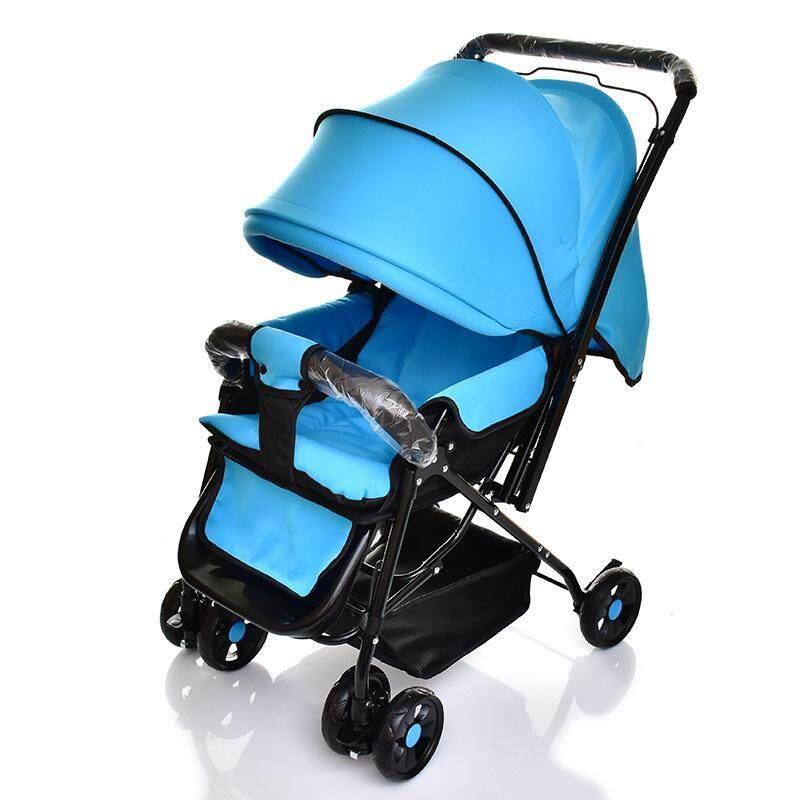 ราคา ลดราคาพิเศษ รถเข็นเด็ก ปรับได้ 3 ระดับ น้ำหนักเบา ฟรีมุ้ง รองรับหนัก (นั่ง/เอน/นอน) เข็นได้ทั้งหน้า-หลัง รุ่น: G521#