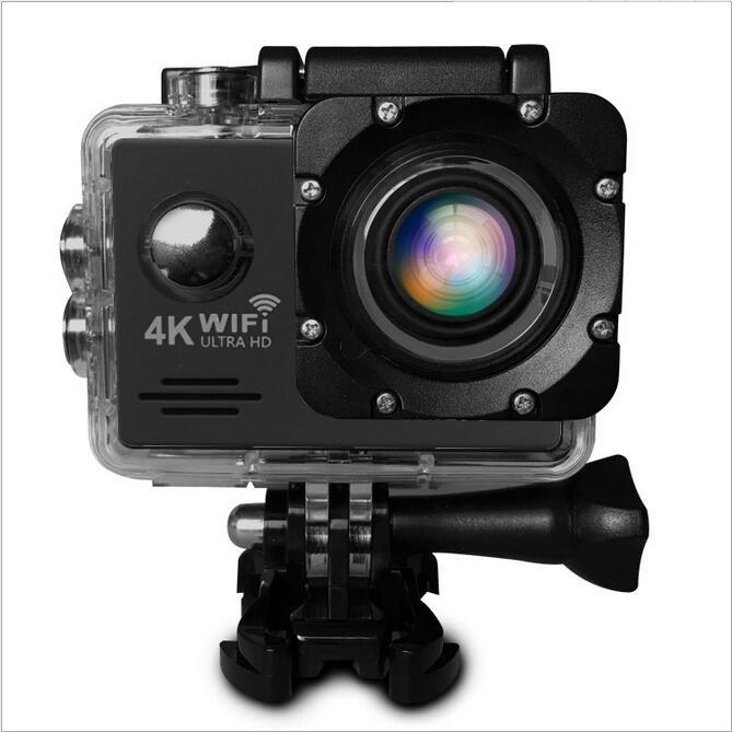 Sports & Action Camera Hd 4k Cc6000+1080p +wifi+tachograph Car Camera กล้องกีฬา ( สีดำ ).