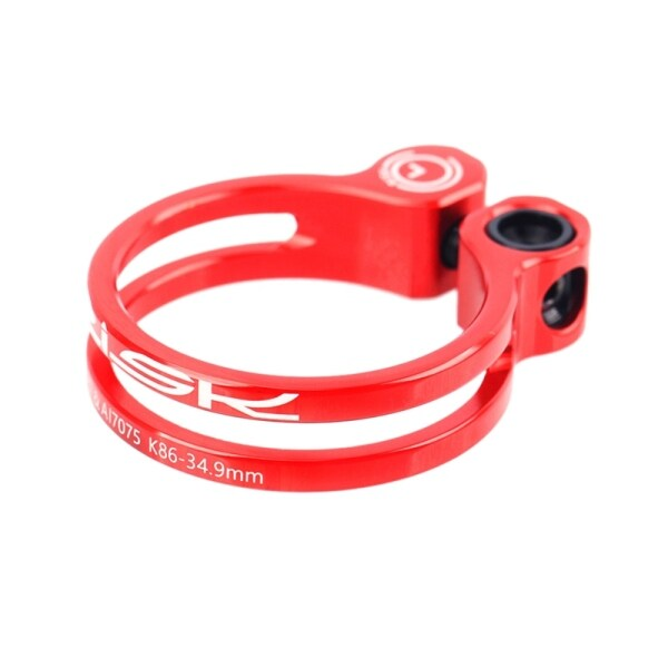 Mua RISK Bike Seatpost Clamp 34.9mm Bicycle Quick Release Seatpost Clamp with Titanium Bolt for MTB Road Bike