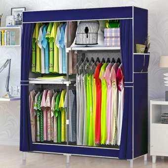 ❌ลด100บ.ทุกชิ้น!!❌ถูกที่สุด! รีบเลย!Lyla ตู้เสื้อผ้า 2 บล็อค พร้อมผ้าคลุม-(2_02C)