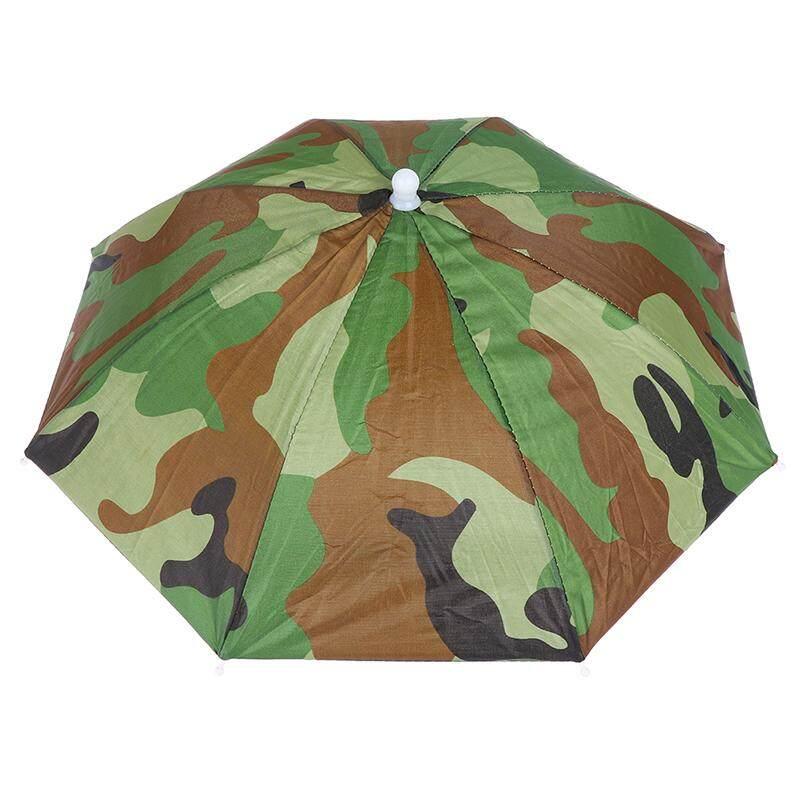 Littlegroot Umbrella Hat Waterproof Outdoor Camping Hiking Fishing Foldable Cap