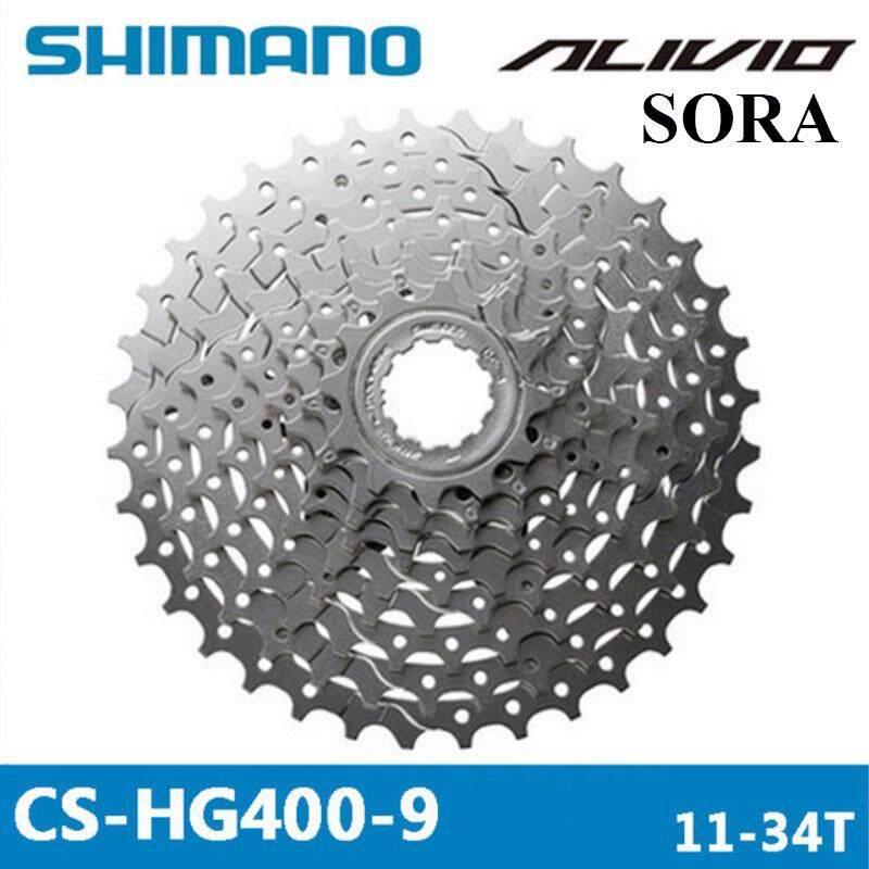 Sora CS-HG400 12-36t Cassette 9Spd 9-Speed ICSHG4009236 Shimano Alivio