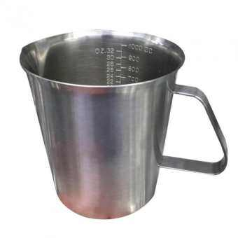 Telecorsa ถ้วยตวง/ถ้วยตวงสเตนเลส  ขนาด 1000cc/32oz รุ่น cup-stainless   ขนาด 1000cc/32oz