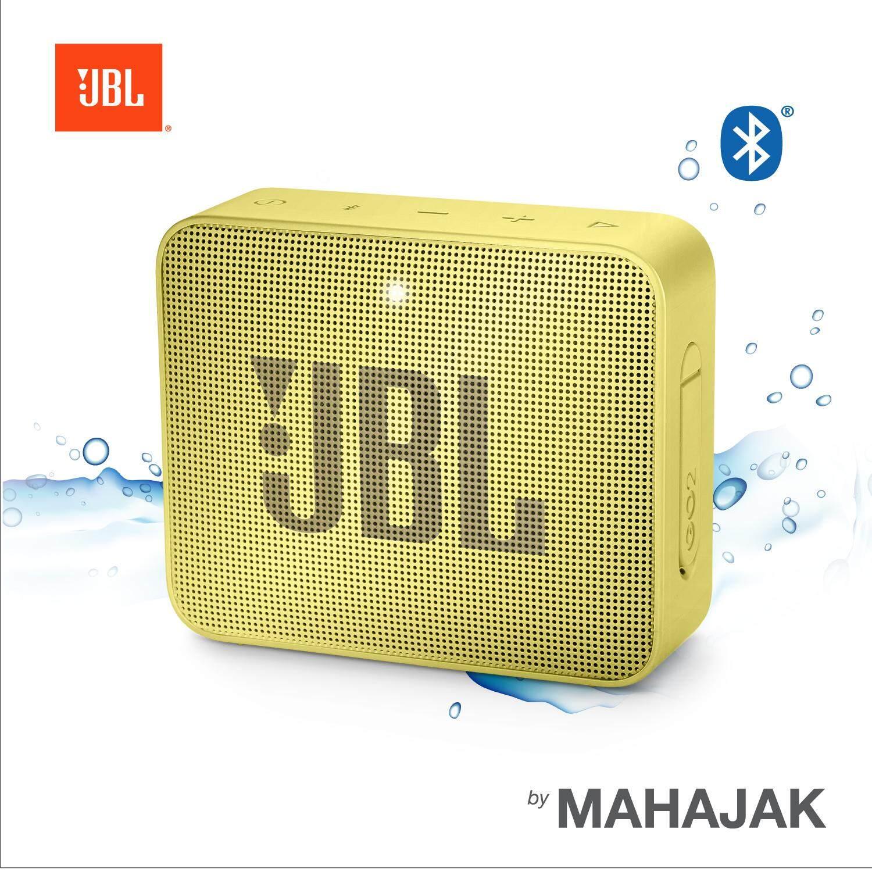 JBL GO 2 รุ่นล่าสุดสุด พัฒนามาจาก JBL GO กันน้ำระดับ IPX7
