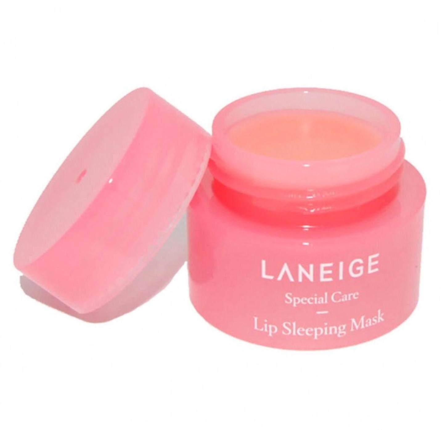 Laneige Lip Sleeping Mask [berry] (3 G) มาส์กปากก่อนนอน ขายดี ของแท้ 100% [special Care Berry].