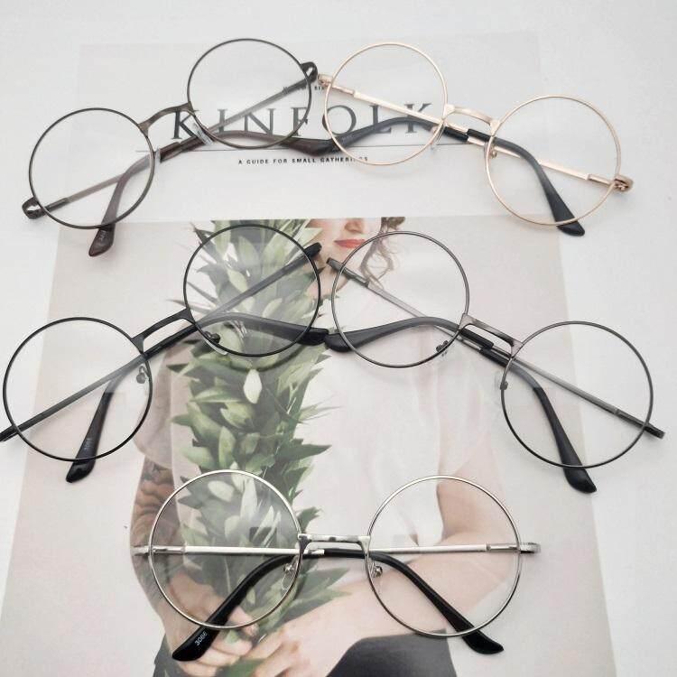 Igootech Fashion แว่นตากรองแสง แว่นกรองแสง ทรงกลม รุ่น 901 Black (กรองแสงคอม กรองแสงมือถือ ถนอมสายตา) By Igootech.
