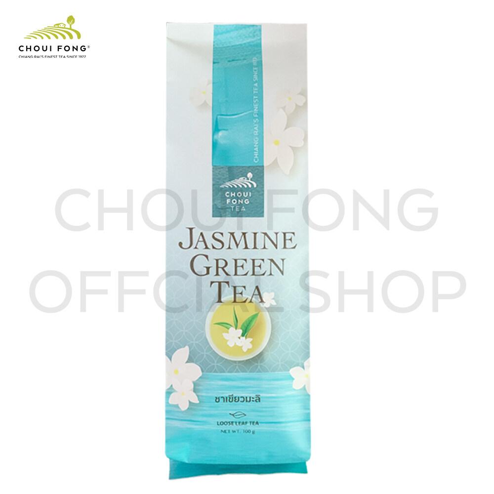 ฉุยฟง ชาเขียวผสมดอกมะลิ  ขนาด 100 กรัม ( Jasmine Green Tea ).