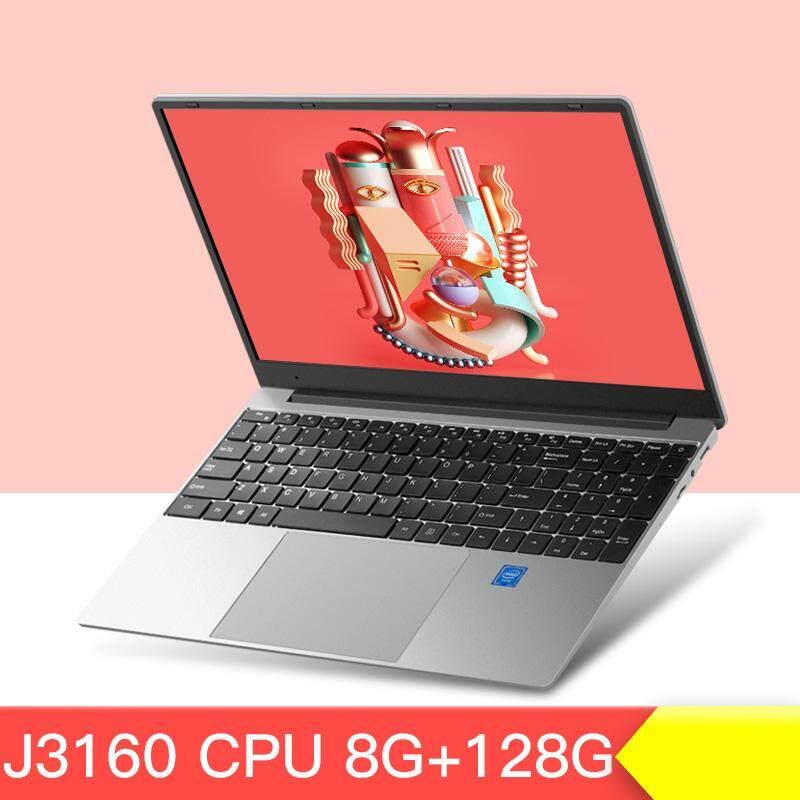 คอมพิวเตอร์โน๊ตบุ๊ค แล็ปท็อป Notebook  Intel J3160 Led 15.6 นิ้ว 1920*1080 Ips Ram8g Ssd M.2 128g Happy Shop2019.