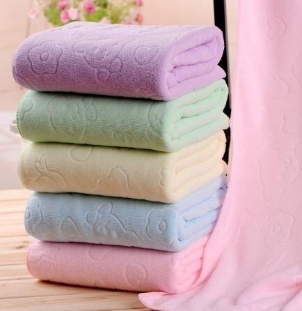 ผ้าเช็ดตัวนาโนผ้านาโนเนื้อดี.