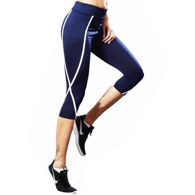 กางเกงออกกำลังกายเลคกิ้งขา 5 ส่วน งานดี ยืดหยุนเยี่ยม By Mamauy Shop.